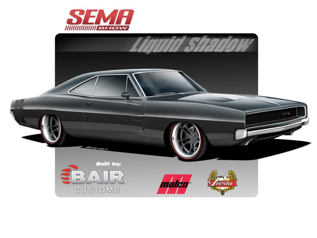 "1968 Dodge Charger ""Liquid Shadow"""